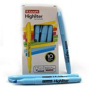 Маркер текстовий Luxor Highliters 1-3,5 мм, блакитний 4145 (10/100/800)