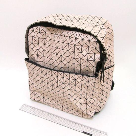4474-15-2 Рюкзак молодежный Компакт, бежевый, 25*30*12см 2 сорт (1)