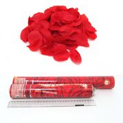 4853-40 Хлопушка пневм. Розы 40см,  лепестки роз 20г (1272-40) (1)