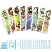 Закладки пластикові для книг Класики української літератури 8шт в наборі BM-4865 (12/288)