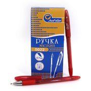Ручка масляна червона 0.7 мм з гумовим тримачем Easy Office Josef Otten 5022