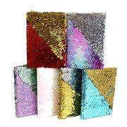 5199-A5 Блокнот с пайетками Спектр A5 P80 80g, mix клетка (60/120)