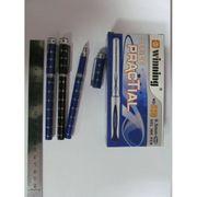 Ручка гелева синя 0.5 мм з гумовим тримачем Winning Josef Otten WZ-528