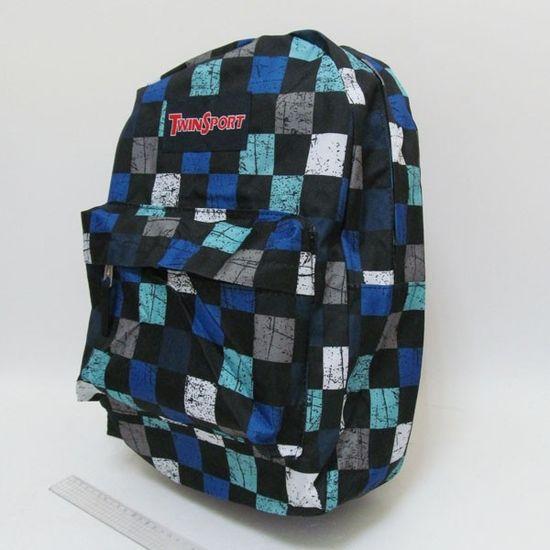6088 Рюкзак с карманом Витраж 42х30х13см (5)