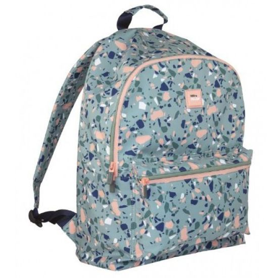 624605TZG Рюкзак TM Milan Terrazzo Green серый, 45*30*16см (1)