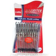 727 Ручка масл.CL Maxriter (cиняя) +доп.ручка (зелен блист.), без/этик. (600/10/100/2400)