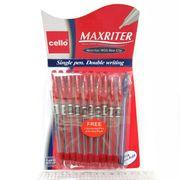 727 Ручка масл. CL Maxriter (красн) + доп.ручка  (зелен уп) (600/10/100/2400)