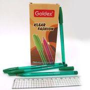 Ручка масляна зелена 1.0 мм Klear Fashion Goldex 734-GR