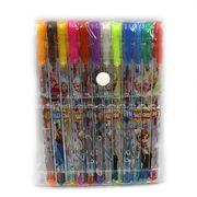 Набір гелевих ручок з глітером 1.0 мм 12 кольорів Frozen Josef Otten IMG_7707-12FR (1/20/240)