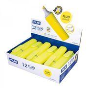 Маркер текстовий  флуоресцентний жовтий 2.0-4.7 мм Fluo TM MILAN 80036 (12/432)