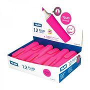 Маркер текстовий флуоресцентний рожевий 2.0-4.7 мм Fluo TM MILAN 80039 (12/432)