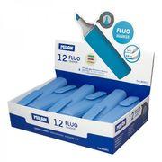 Маркер текстовий флуоресцентний синій 2.0-4.7 мм Fluo TM MILAN 80051 (12/432)