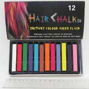 B357-12 (8357-12) Мел для волос, набор 12 цветов, 6,5х1х1см (12/120)