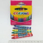 8496-12 Мелки восковые Crayons, набор 12 цв. 0,9*80мм, без этикетки (72/288)