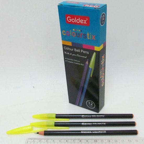 Ручка шариковая черная 1 мм Colorstix #932 Goldex Josef Otten