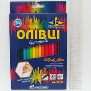 9403-18 Карандаши цв. шестигранные Профи-Арт 18 цв., в картоне, европ. J.Otten (8)