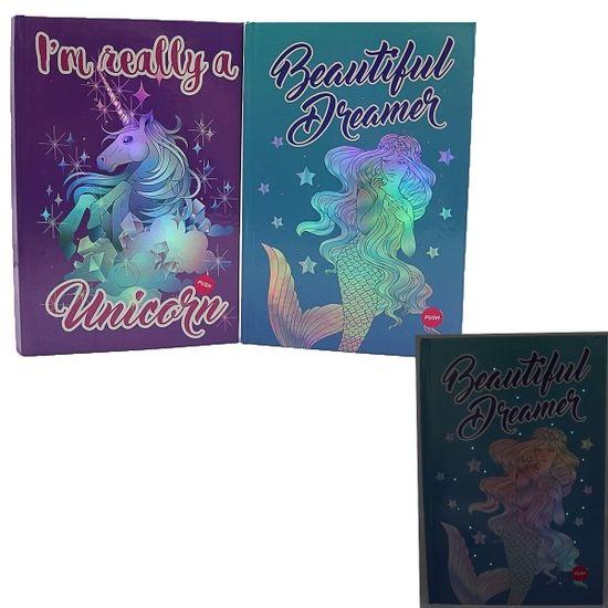 Блокнот с твердым переплетом А5 70 линованных страниц микс Fairytale Josef Otten 9448_2DSCN