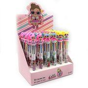 DSCN9631-6 Ручка детская многоцв. автомат LLL, 0,7мм,6цв., mix, 36шт/этик. (36)
