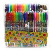 Набір гелевих ручок з глітером 1.0 мм 36 кольорів Smile  Josef Otten DSCN9802-36 (1/24/96)