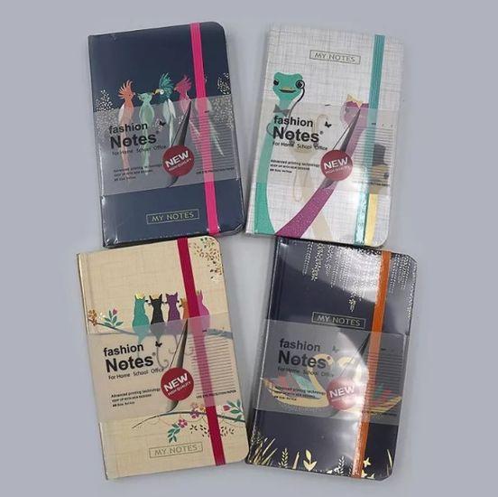 Блокнот на резинке А5 192 страницы в линию Животные микс COLOR/BOX  Josef Otten 9A0026-A5