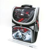 AB-1823 Рюкзак коробка Drive 34*26*14,5см, 3 отд., ортоп., светоотраж. (6)