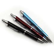 Ручка шариковая автоматическая металлическая синяя 0.7 мм Baixin BP2003