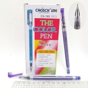 Ручка гелева фіолетова 0.38 мм Chosch Josef Otten CS-785