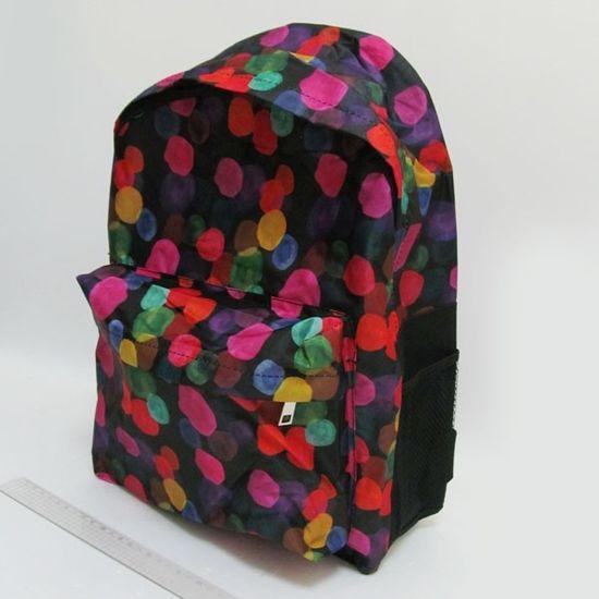 DSCN0592-B Рюкзак с карманом Пузырьки 42х30х13см (1)