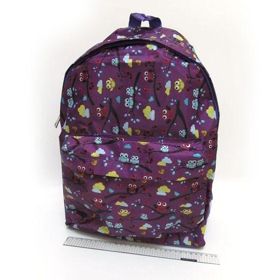 DSCN0611-B Рюкзак с карманом Птицы, 42х30х13см (1)