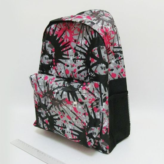 DSCN0615-B-1 Рюкзак с карманом Воображение серый, 42х30х13см (1)