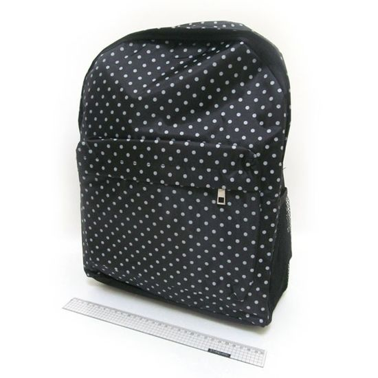 DSCN0628-B-1 Рюкзак с карманом Крапинка 42*30*13см (1)