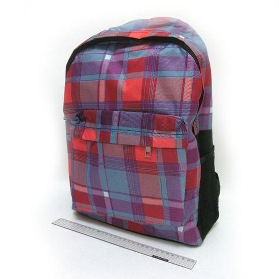 DSCN0632-B-4 Рюкзак с карманом Квадраты 42*30*13см (1)