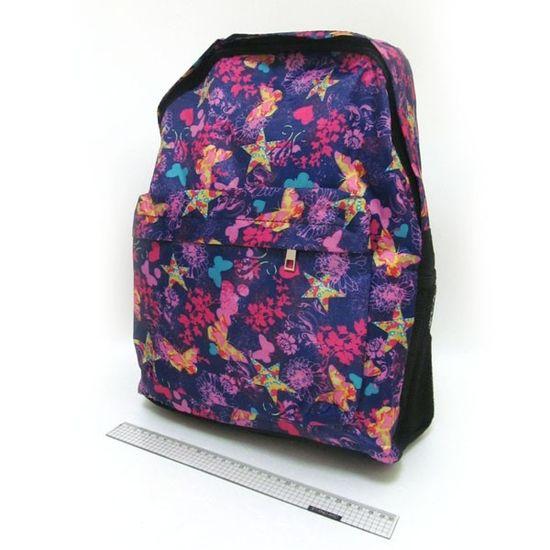 DSCN0637-B-1 Рюкзак с карманом Бабочки 42*30*13см (1)