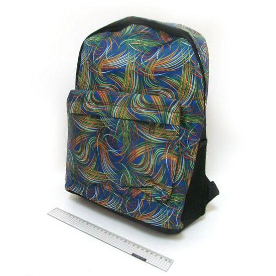 DSCN0643-B-4 Рюкзак с карманом Разводы 42*30*13см (1)