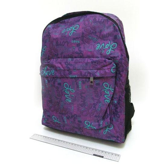 DSCN0650-B-3 Рюкзак с карманом Love 42*30*13см (1)