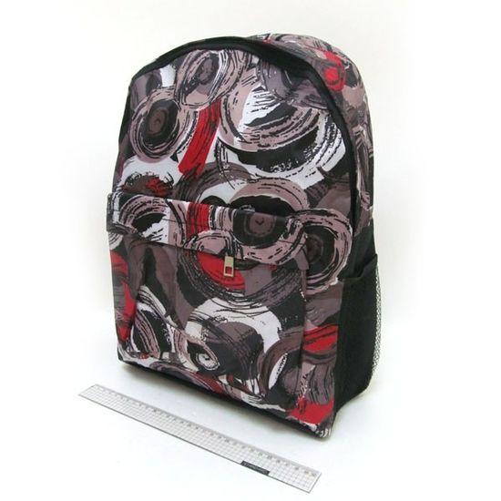 DSCN0656-B-3 Рюкзак с карманом Разводы 42*30*13см (1)