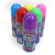 DSCN0764 Аэрозоль-серпантин цветной в балоне Crazy, 250мл, mix, без/этик. (48)