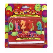DSCN1275 б/э Набор свечей для торта Party 0-9 , 2,5*2см (24)