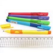 Ручка масляна синя 0.7 мм з гумовим тримачем для правші CL Cello CL-1361R