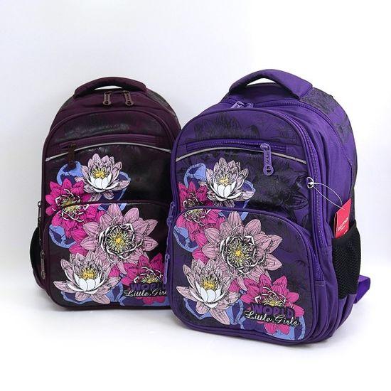 DSCN3459 Рюкзак детский 4отд Цветы 40*27*16см хор спин (5)