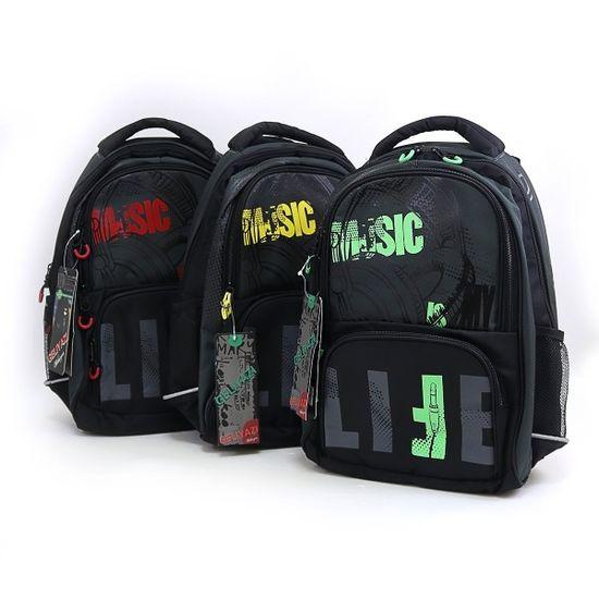 DSCN3470 Рюкзак детский 3отд Music life 41*30*19см жестк спина отд ноут (1)