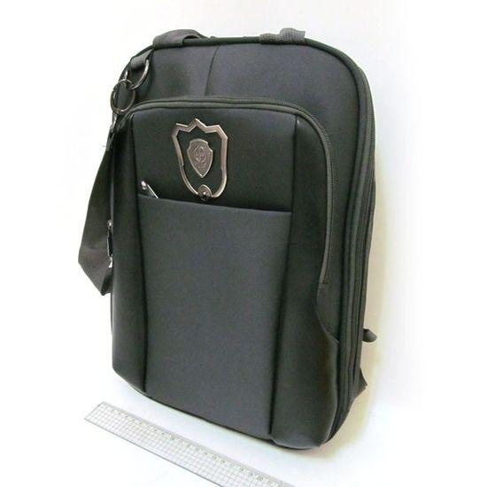 3902-В Рюкзак-сумка для ноутбука орг 38*30*5см, черн. (1)