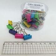 DSCN5235-19 Биндер 19мм Цветные пастель банка (40/4800)