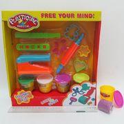 7764 (9083) Тесто д/лепки Plasticine magical 4цв*50g, набор с формочками и инструментами (18/36)