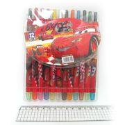 8647 Мелки восковые Crayons CRL, набор 12 цв. PVC (24)