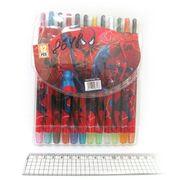 8648 Мелки восковые Crayons SML, набор 12 цв. PVC (24)