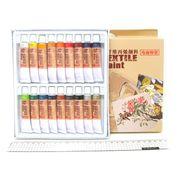 EAF1812 Набор красок для текстиля 18*12мл, алюм туб, подложка, 1шт/этик. (6)