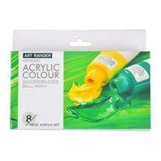 Набор акриловых красок 8 цветов 22 мл стандарт Art ranger Josef Otten 32KRFEA0822-R