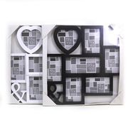 FR0200 Ф/рамка 7 в 1 Heart (10*15)*5+13*13+20*10, mix2, 1шт/этик. (1)