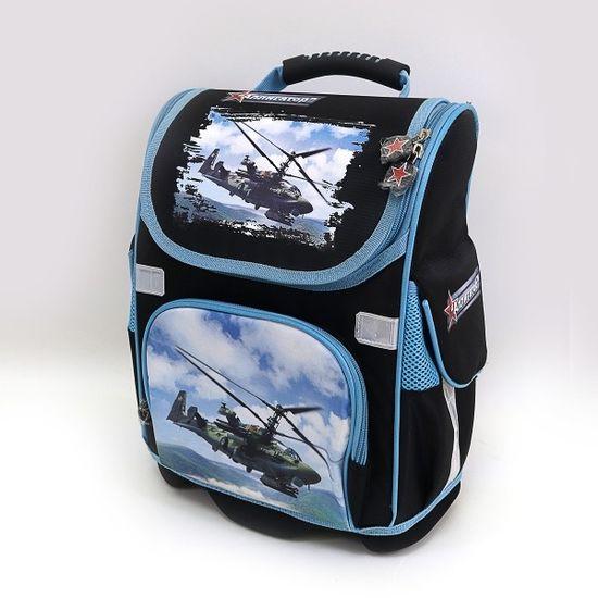 FY-31 Рюкзак коробка твердое дно Вертолет 26*15*35СМ (1)